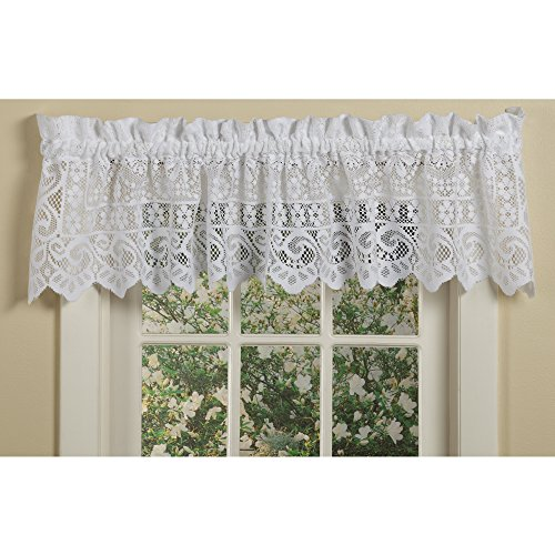Linen Lorraine Home Fashions: AUTHENTIC Lorraine Home Fashions Hopewell Lace Window