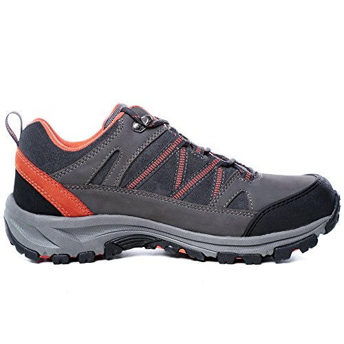 TFO Men's SFO Water Resistant Breathable Low Hiking Shoes Grey clearance online amazon nqxV56C