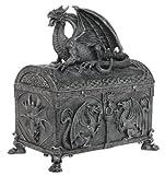 Celtic Dragon Chest Statue SHIPS IMMEDIATLY !!