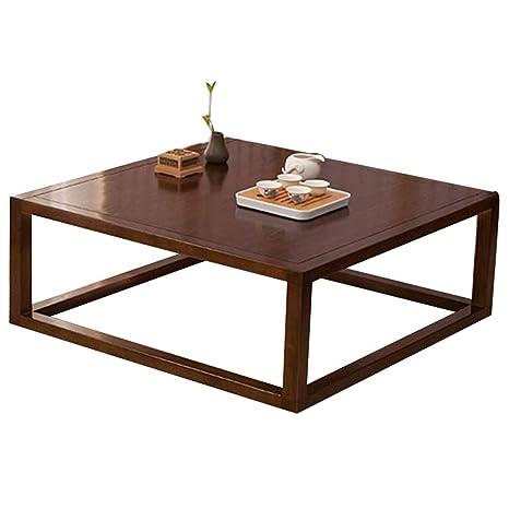 Amazon.com: Mesa baja para tatami, mesa de café, casa ...