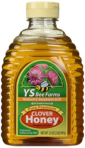 YS Bee Farms - Clover Honey Pure Premium - 32 oz.
