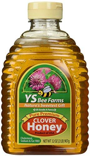 Y.S. Organic YS Bee Farms - Clover Honey Pure Premium - 3...