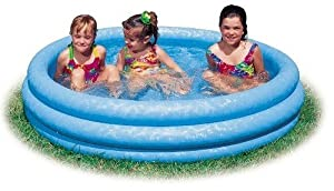 Inflatable Crystal Blue Swimming Pool (45in X 10in) (2-Pack)