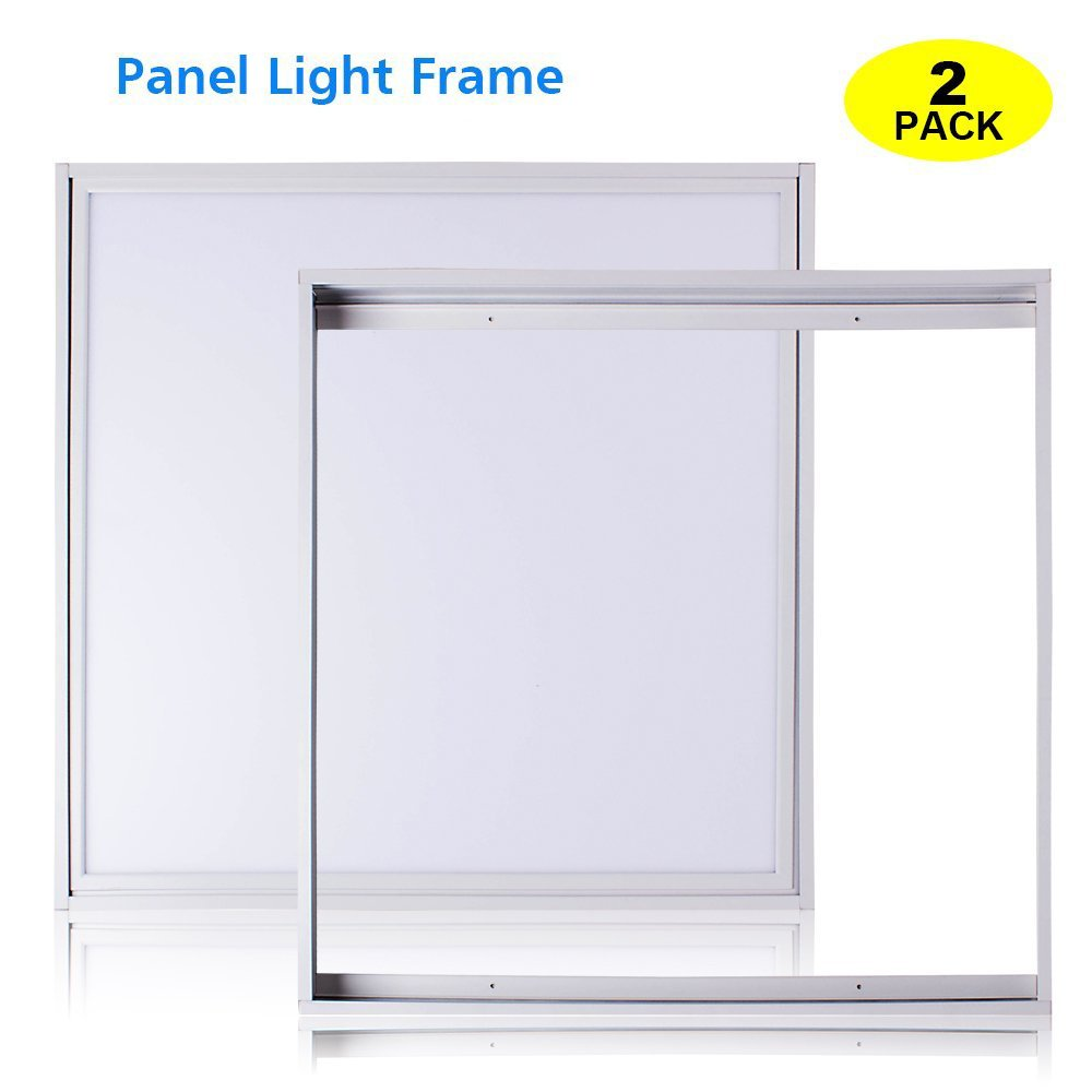 T-SUNRISE Aluminum Frame for Surface Mount 2X2Ft LED Panel Light (2 Pack)