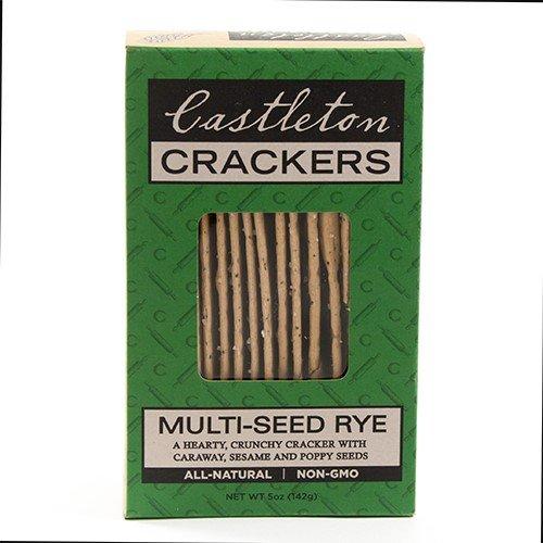 Rutland Multi Seed Rye Crackers by Castleton Crackers (5 ounce)