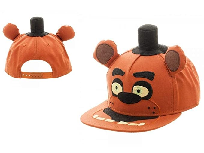 f918a4c275f Image Unavailable. Image not available for. Color  Five Nights At Freddy s  Big Face Snapback Youth Cap
