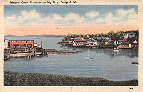 Prince's Cove Passamaquoddy Bay Eastport Maine Postcard