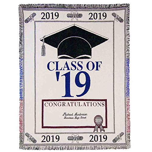 Euone Home, 2019 Graduation Season Commemorative Comfort Blanket Home -