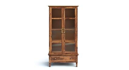 Urban Ladder Malabar Display Bookshelf (Teak)