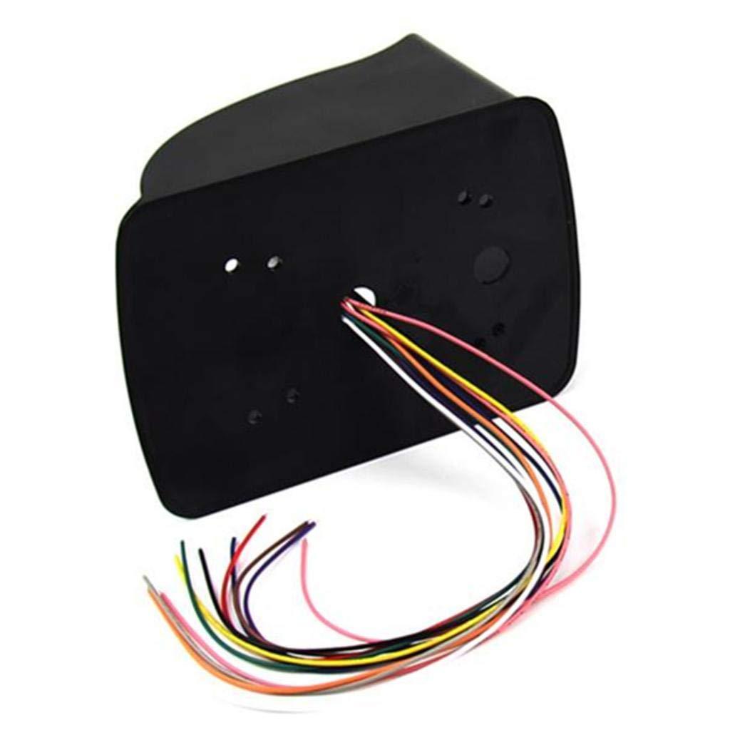 Piezas de Reparaci/ón para Sistema de Seguridad 2x Cubierta Impermeable Contra Lluvia Protector para Control de Acceso