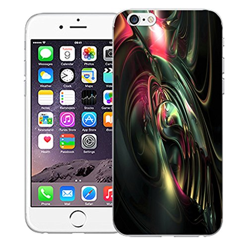 """Mobile Case Mate iPhone 6 4.7"""" Silicone Coque couverture case cover Pare-chocs + STYLET - Imminent pattern (SILICON)"""
