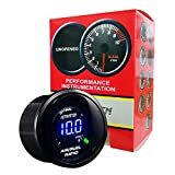 "HOTSYSTEM New Auto Car 2"" 52mm Digital Color Analog LED Air/Fuel Ratio Monitor Gauge"