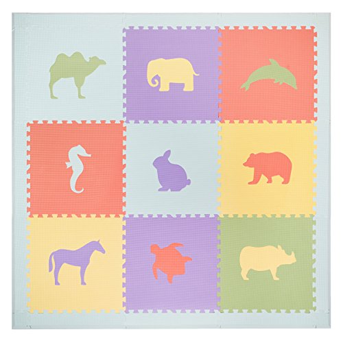 Babies Non Toxic Quality Pastel Animals product image