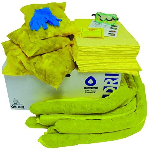 Oil-Dri L90440R Haz Mat Refill Spill Kit, 40 gal