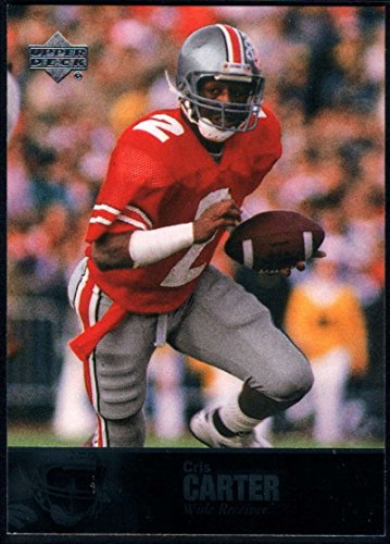 College Legends (Football NFL 2011 Upper Deck College Football Legends #53 Cris Carter NM-MT)
