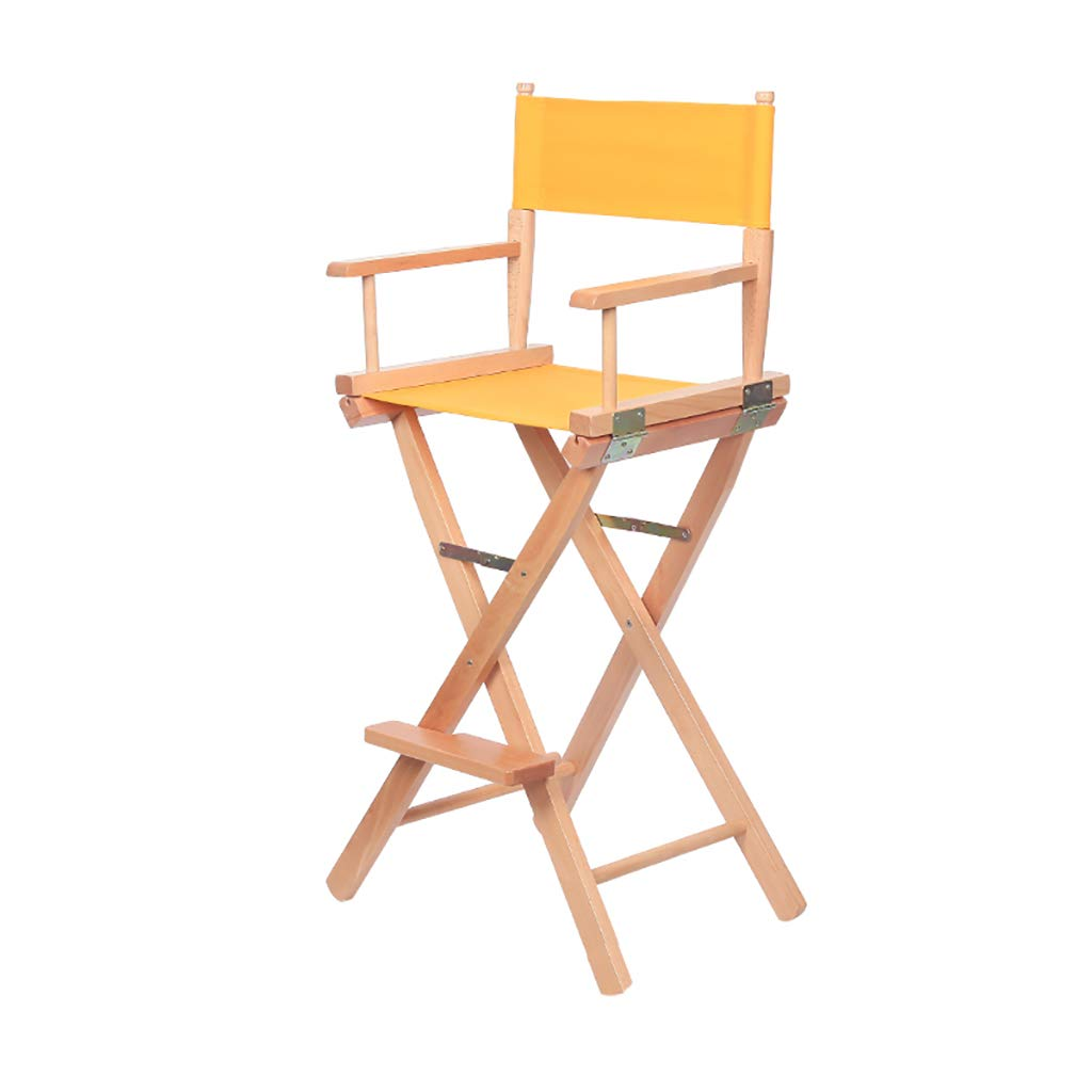 Pleasing Amazon Com Zccdyy Solid Wood Folding Chair Canvas Chair Home Interior And Landscaping Ferensignezvosmurscom