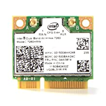 IBM Intel Dual Band Wireless 7260 7260HMW AC 802.11b/g/n Mini PCI-E Wifi + Bluetooth 4.0 Adapter 04W3814