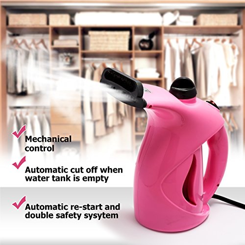 Business100 Portable Steamer, 200ML Portable Garment Steamer,Steamer for Clothes, Heat-up Premium Fabric Steam Cleaner, Safe, Lightweight & Perfect Clothing Steamer for Travel Home by Business100 (Image #8)