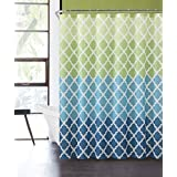 Luxury Home Ombre Peva Shower Curtain, Blue/Green