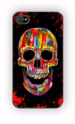 sugar skull chromatic for iPhone 4/4S Case