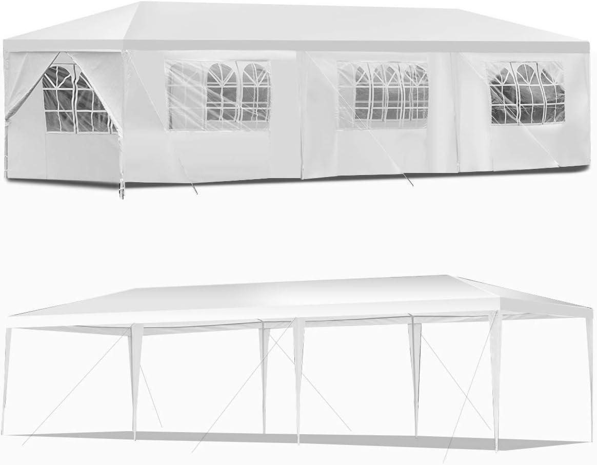 3x6m Gartenpavillon Pavillon Strandzelt Festzelt Hochzeit Festzelt Mit Fenster