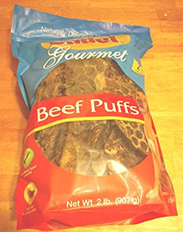 Cadet Gourmet Beef Puffs Dog Treats 2 lbs - 2 Lb Beef