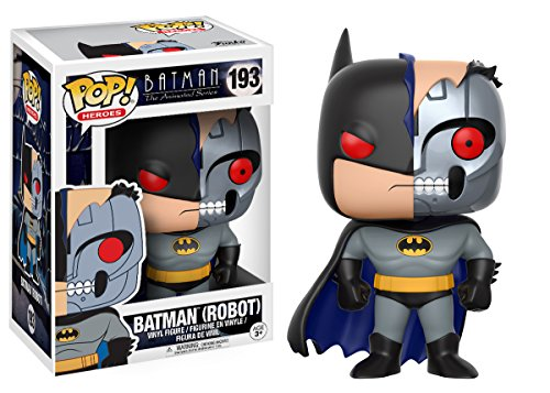 Funko Pop Animated Batman Robot Vinyl Action Figure with Chase Figure at Gotham City Store