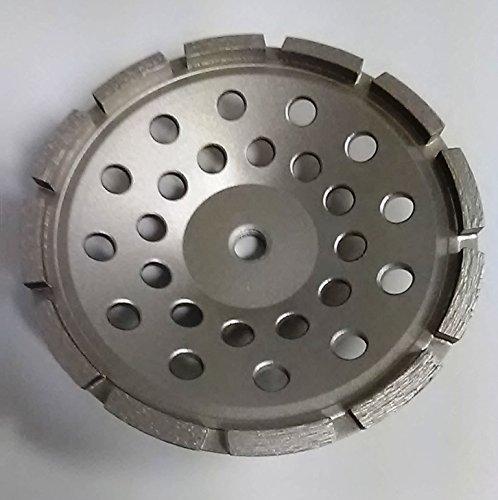 "Grinding Diamond Cup Wheel - Single Row - 5/8""-11 Threaded (7 Inch)"