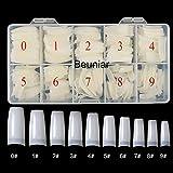 Beuniar 500PCS Acrylic Nail Tips French