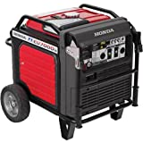 10000 Watt Gas Generator - Honda EU7000is - 5500 Watt Electric Start Portable Inverter Generator