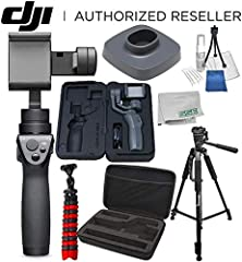 The DJI Osmo Mobile 2 carries over most of the features from the original version and offers several key improvements. It's a bit lighter. The motion ranges are expanded. And run-time is tripled to approximately 15 hours!  Mount any smartphon...