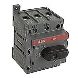 ABB OT80F3 DISCONNECT NON-FUSIBLE SWITCH, 3P, 80A, UL508