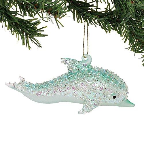 Department 56 Coastal Glass Dolphin, 2