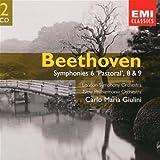 Beethoven: Symphonies 6, 8 & 9; Carlo Maria Giulini; London Symphony Orchestra