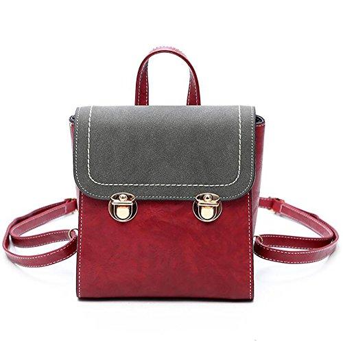 function Bag Handbag Casual 10 Backpack pu Soft Fashion 22cm Women's Multi Leather 20 qAw5qIU