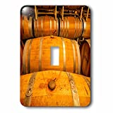 3dRose lsp_191826_1 Usa, Washington, Yakima Valley Wine Matures in The Barrel Room Light Switch Cover