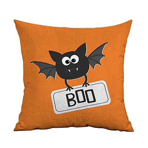 warmfamily Couple Pillowcase Halloween Cute Funny Bat with