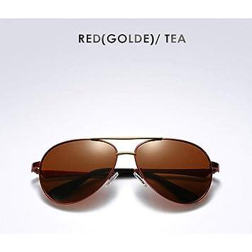 CAGSQ Gafas De Sol Gafas De Sol Polarizadas para Hombre ...