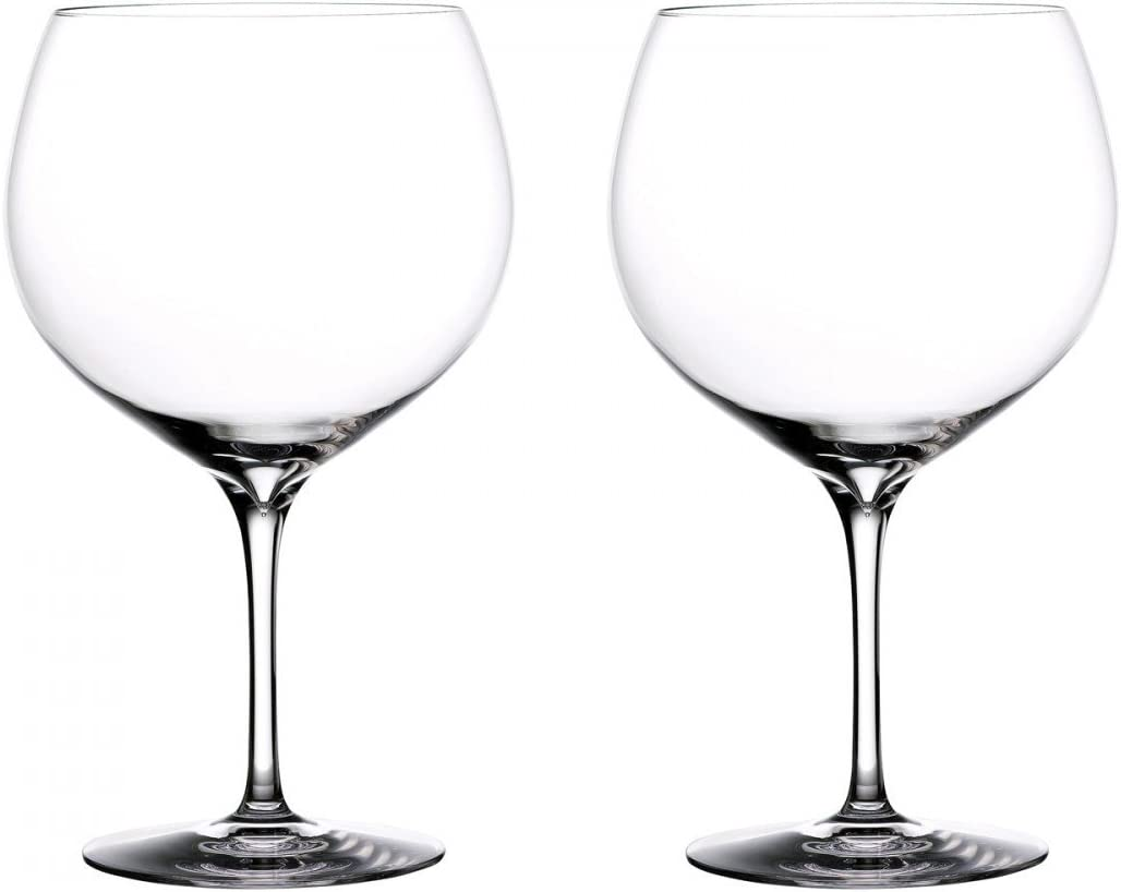 Waterford Elegance Cheap mail order sales Balloon Gin San Francisco Mall Set of 2