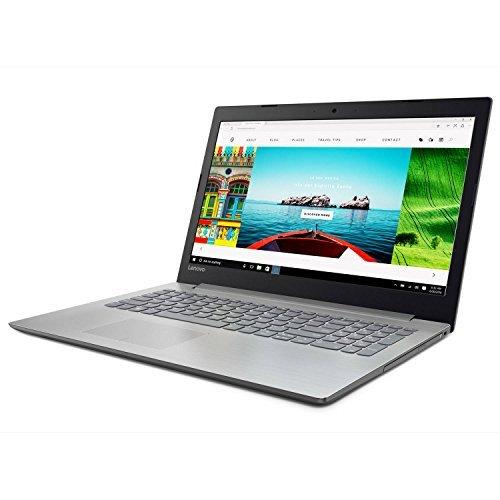 2018 Lenovo ideapad 320 15.6 LED-Backlit Display Laptop, Intel Celeron N3350 Dual-Core Processor, 4GB RAM, 1TB HDD, DVD-RW, WiFi, Bluetooth, HDMI, Intel HD Graphics 500, Windows 10, Platinum Gray