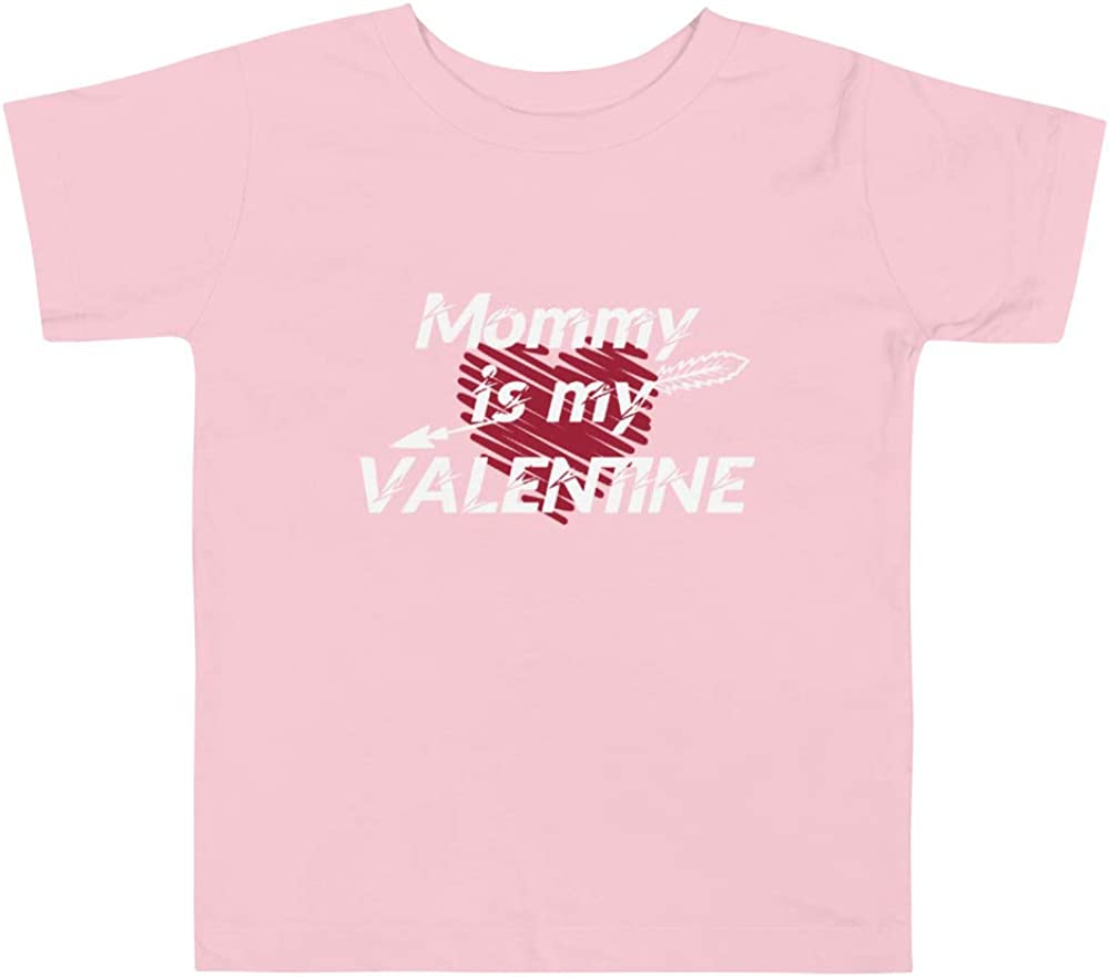 Delightful Gifts Galore Mommy is My Valentine Toddler Shirt Boy Girl Valentine/'s Day Outfit