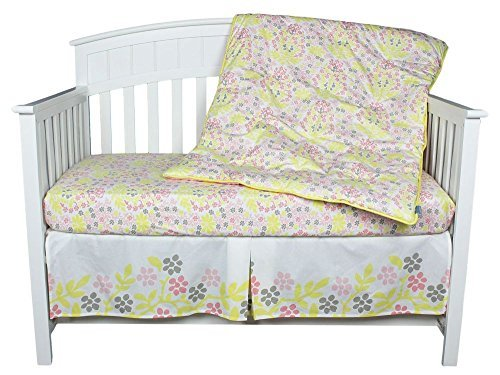 Room 365 Room Mandala 3-Piece Crib Set (Pink And Yellow Crib Set)