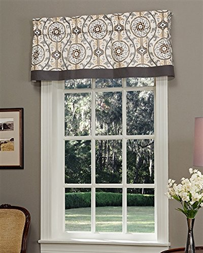 Izmir Tailored Valance Lined By Thomasville  72 W X 16 L