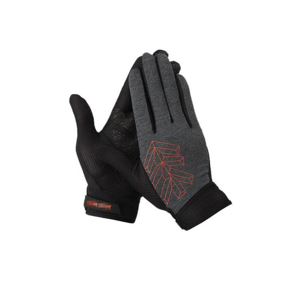 LBAFS Outdoor Sports Männer Handschuhe Verwenden Coolmax Stoff Wasserdicht Atmungsaktiv Touchscreen, Mit Full-Finger-Design, Zum Klettern Fahren Radfahren Motorrad Camping Etc,M