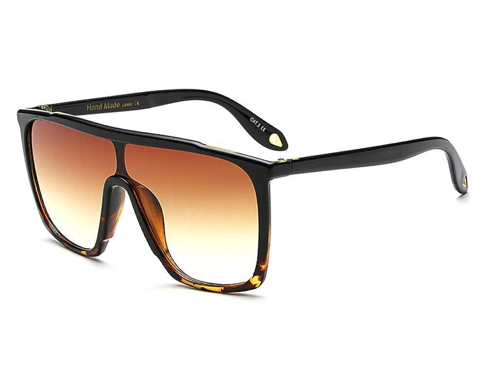 Amazon.com: Cuadrado grande anteojos de sol Hombre parte ...