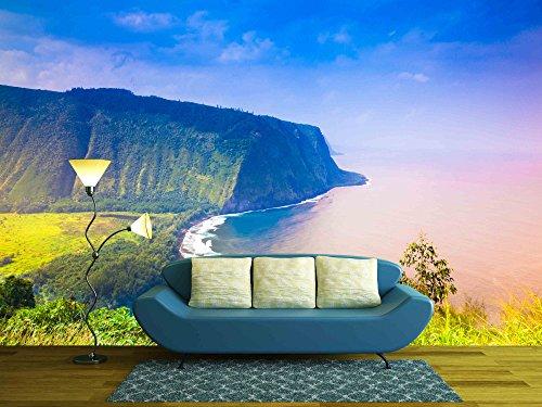 Waipio Valley Lookout on Big Island Hawaii