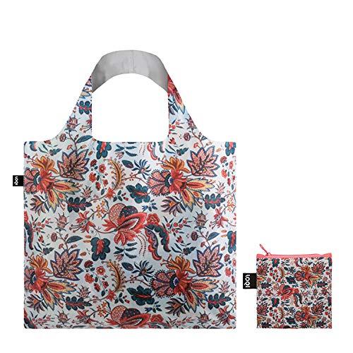 50 cm LOQI MAD Indian Bag Tote da viaggio Indian 15 liters Multicolore