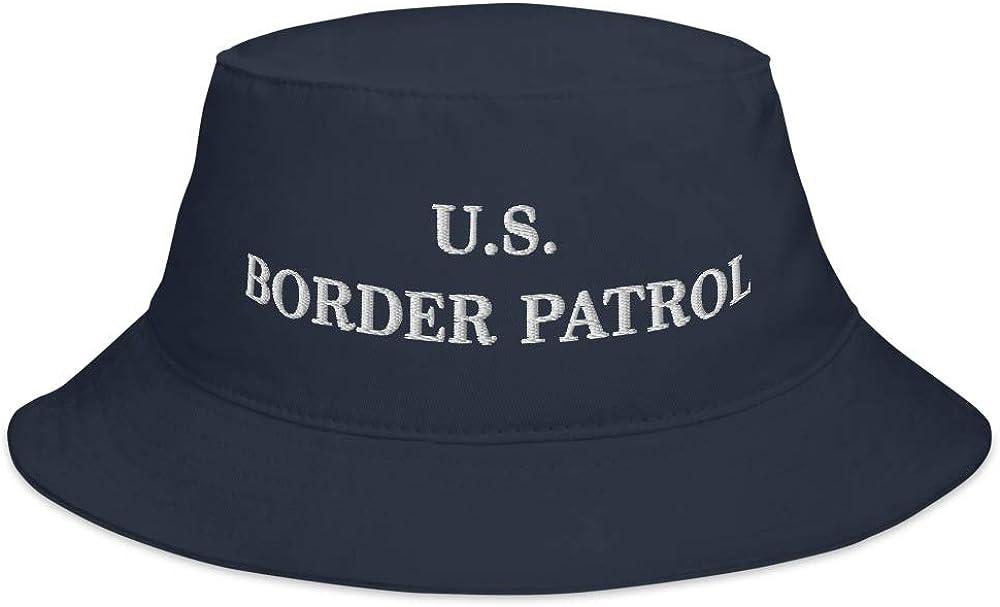 Hogue WS LLC US Border Patrol Hat (Embroidered Bucket Cap) Dept Homeland Security