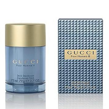 ea5beaea340 Amazon.com   Gucci Pour Homme II Deodorant Stick 2.5 oz   Eau De Toilettes    Beauty
