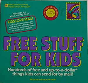Get free stuff in the mail for kids